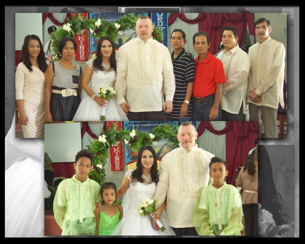 My daughter Cristy found her husband Charlie on this site.<br>They get married july 18 2014.<br><br>I am very happy !<br><br>Thank you Filipinokisses they found true love at your site<br><br>GOD BLESS...